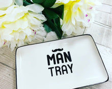 Father's Day Man Tray for accessories (defect: small marks)