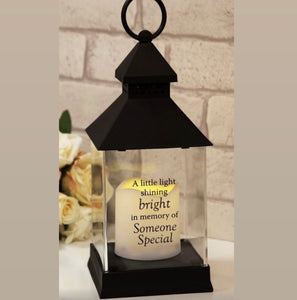 Graveside Lantern- someone special