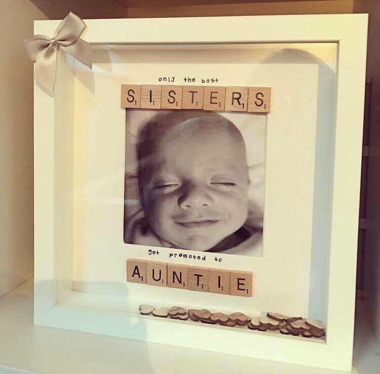 Scrabble Art Sister / Auntie - The Perfect Gift Co.