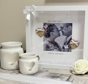 Wedding Frame with Picture - The Perfect Gift Co.