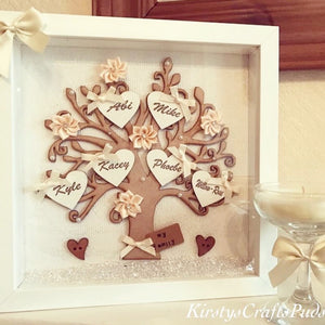Family Tree Frame Cream/ Ivory - The Perfect Gift Co.