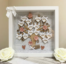 Family Tree Frame Grey & Blush Pink - The Perfect Gift Co.