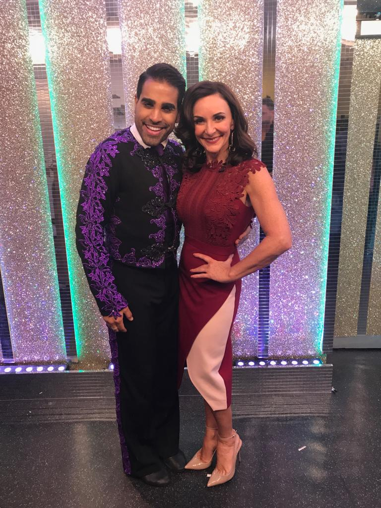 Shirley Ballas wears The 8th Sign