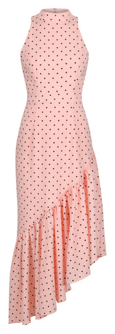 MARILYN POLKA DOT MIDI DRESS