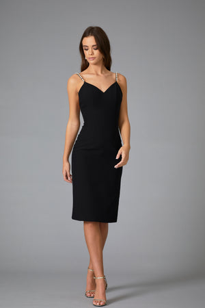 ROMERO PEARL MIDI DRESS