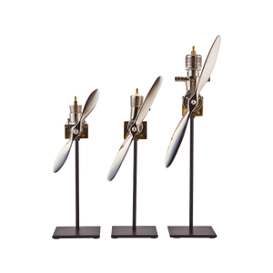 Airplane Engine Replica (Set of 3) - Pendulux
