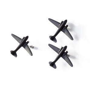 Bomber Formation Black Set of 3 - Pendulux