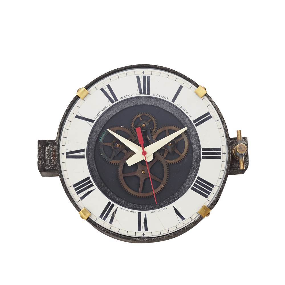 Chicago Factory Wall Clock - Pendulux