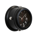 Deckhand Wall Clock Black - Pendulux