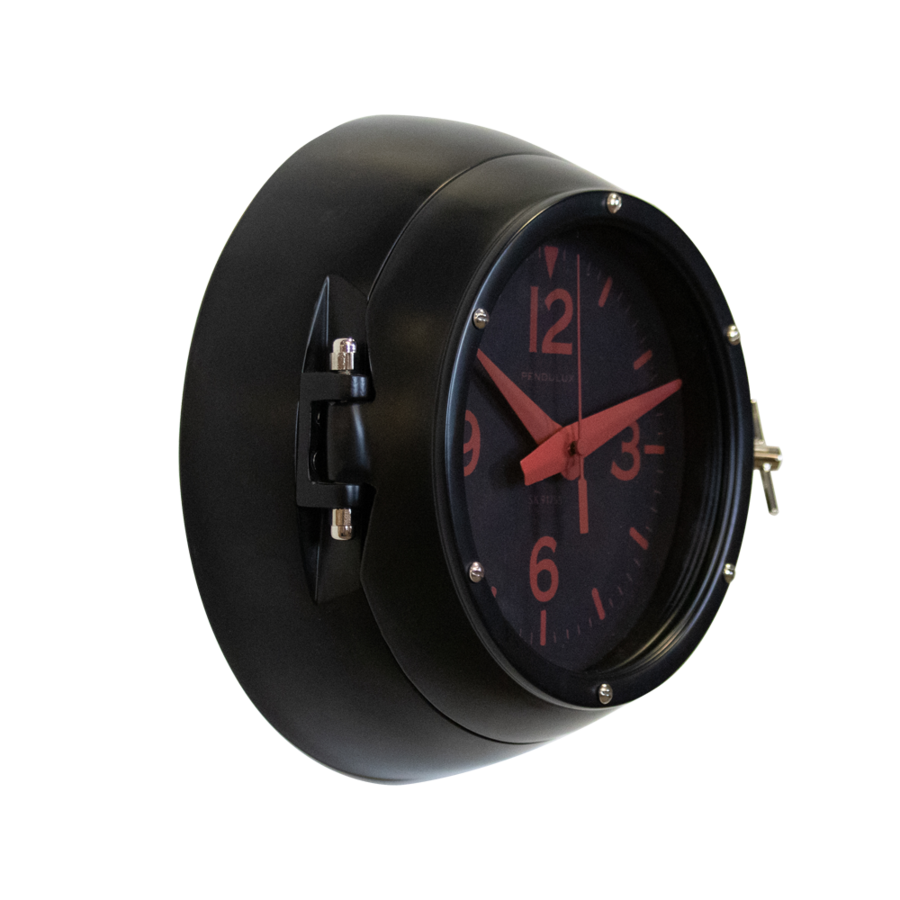 Deep Sea Wall Clock Black - Pendulux