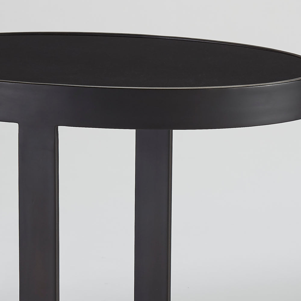 Ellipse Accent Table Graphite - Pendulux
