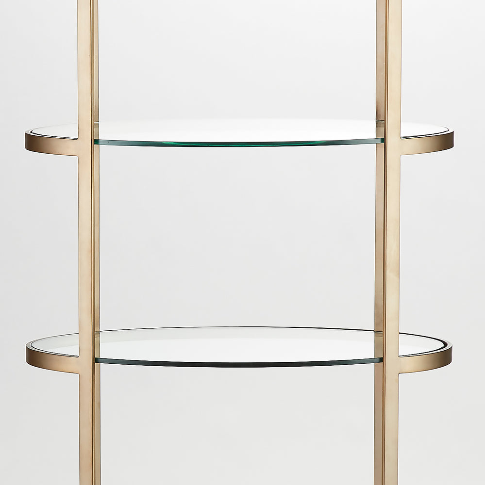 Ellipse Etagere Antique Gold - Pendulux