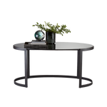 Ellipse Writing Desk Graphite - Pendulux