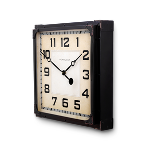 Gas Station Clock Black - Pendulux