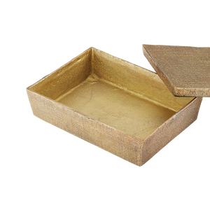 Hemp Box Large Antique Brass - Pendulux