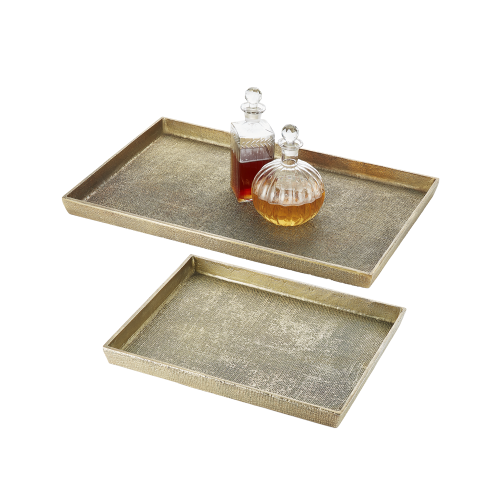 Hemp Tray Large Antique Brass - Pendulux