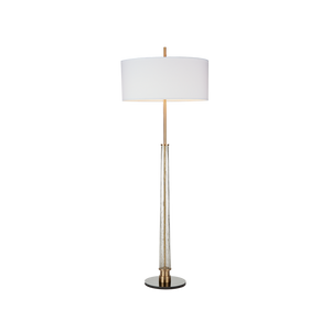 Hudson Floor Lamp Antique Brass - Pendulux
