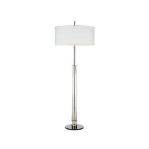 Hudson Floor Lamp Antique Nickel - Pendulux