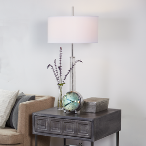 Hudson Table Lamp Antique Nickel - Pendulux