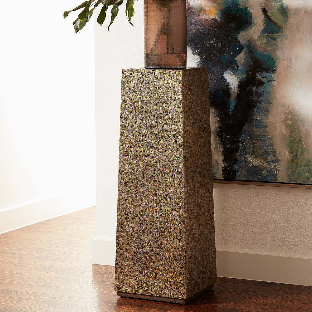 Kush Pedestal Antique Brass - Pendulux