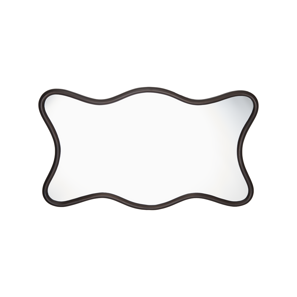 Milano Hall Mirror Antique Bronze
