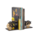 Motorcycle Bookends Black - Pendulux
