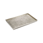 Hemp Tray Large Antique Nickel