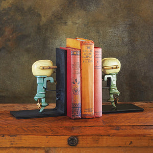 Outboard Motor Bookends - Pendulux