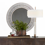 Point Richmond Mirror Natural Iron - Pendulux