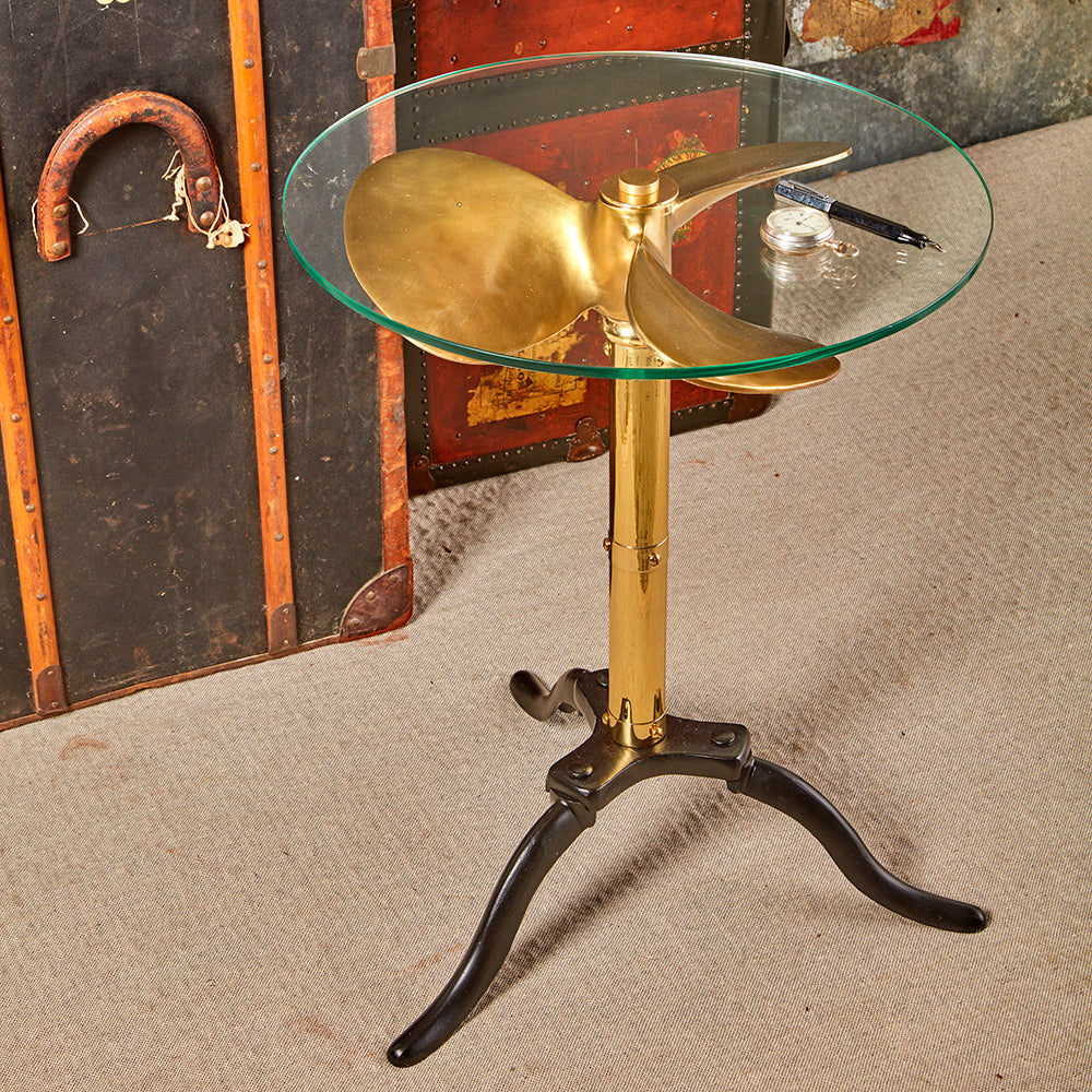 Ship Propeller Side Table - Pendulux