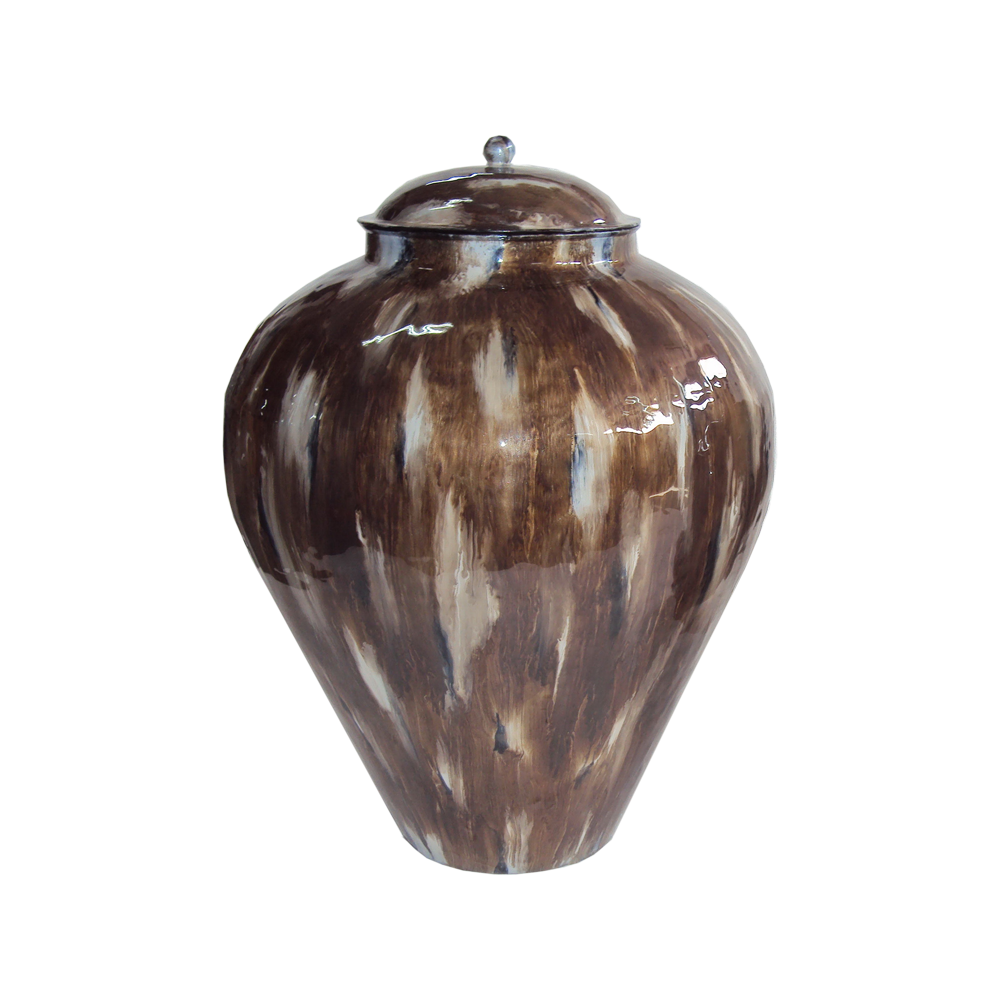 Stinson Vase Grey Large - Pendulux