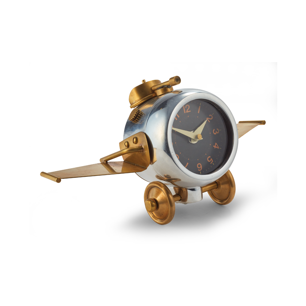 Thunderbolt Table Clock - Pendulux