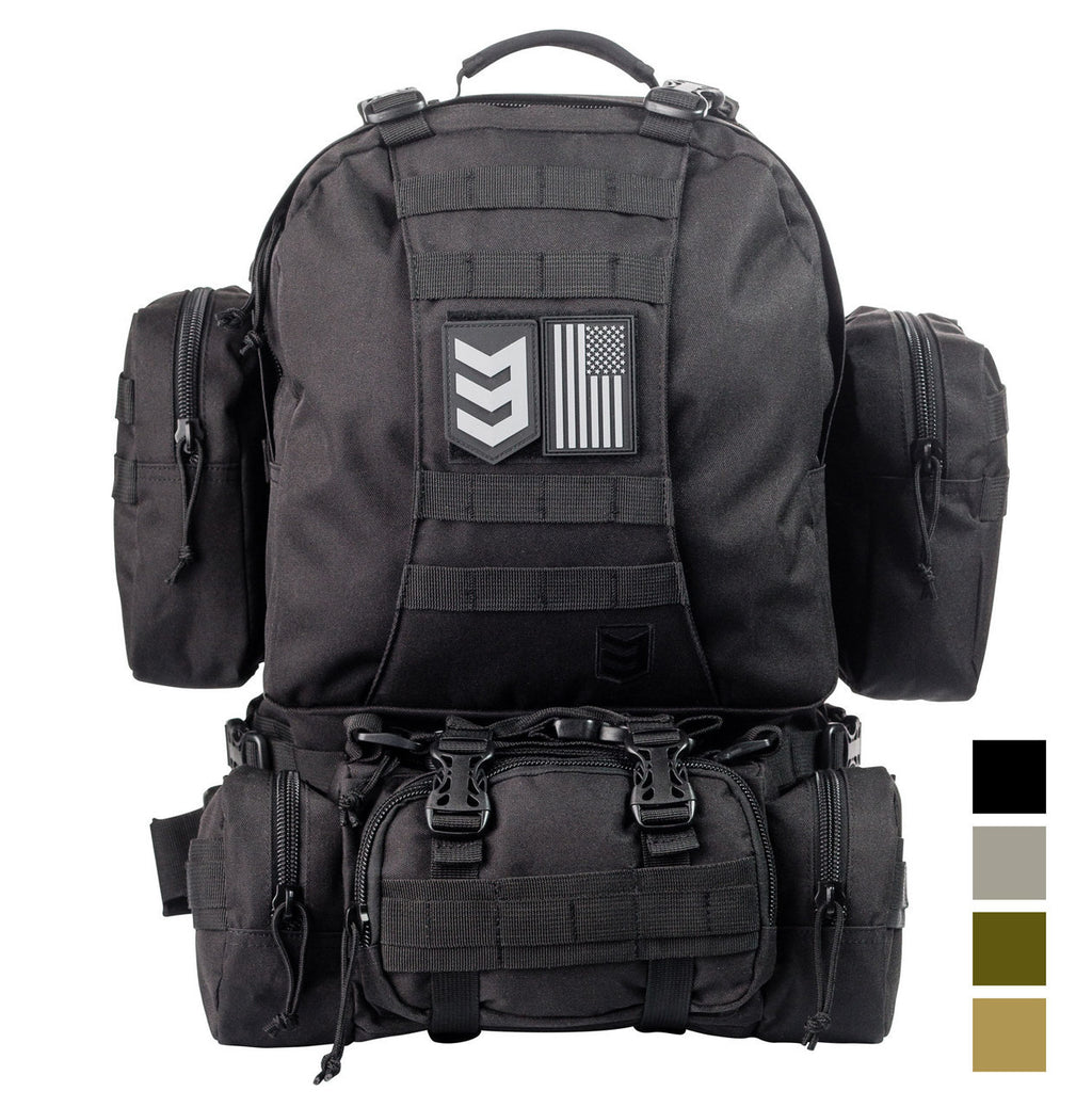 PARATUS 3 DAY OPERATOR'S PACK BLACK