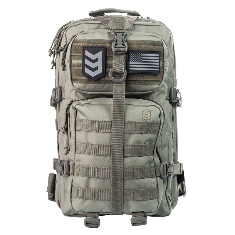 VELOX II TACTICAL ASSAULT PACK BLACK FOLIAGE GREY