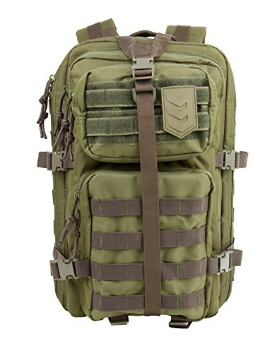 VELOX II TACTICAL ASSAULT PACK BLACK OLIVE DRAB