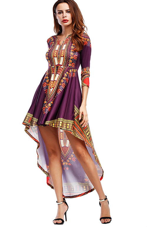 boho style summer shift dress