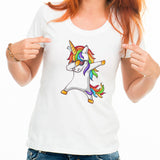 unicorn dapping tee