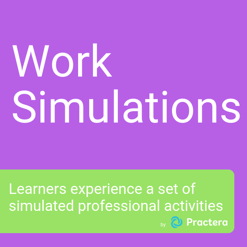 Work simulations