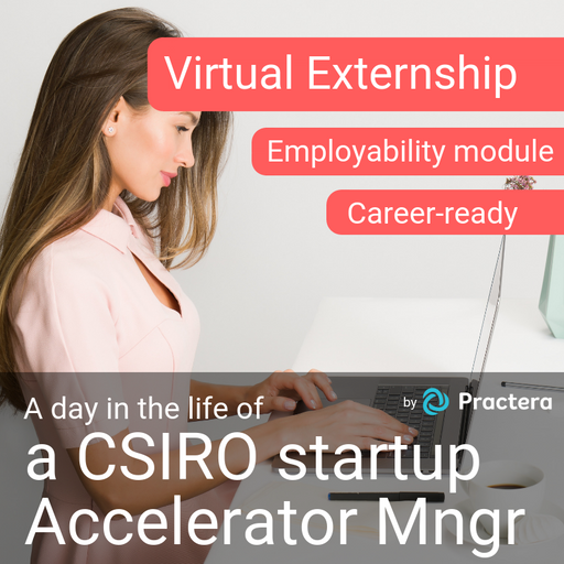 A day in the life of...  a Deep Tech Startup Accelerator Manager at CSIRO (Fully automated, Individual)