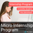 Micro Internship / Industry Placement (12 weeks)