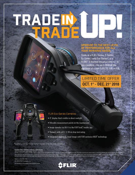 Flir Offers Trade In/Trade Up Program Through December 21