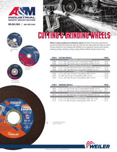 Weiler Cutting & Grinding Wheels