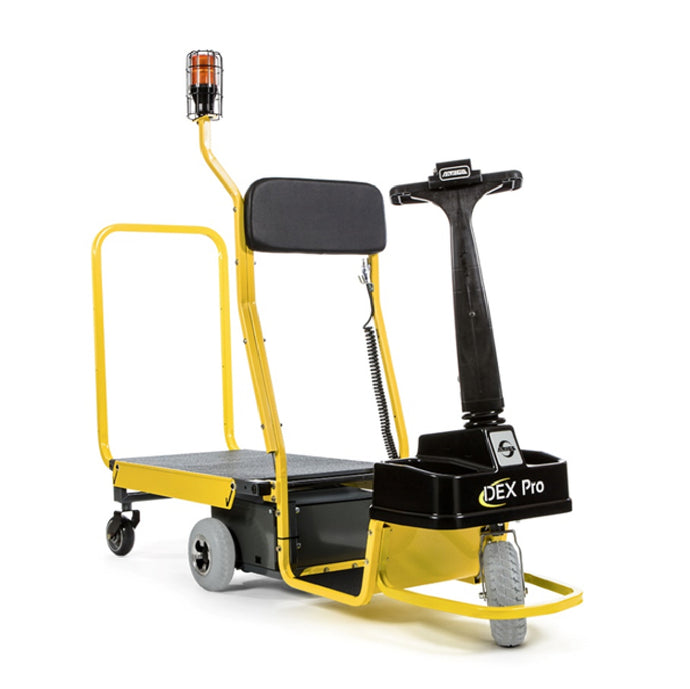 Dex Pro Series Motorized Carts Speed up Work with Minimum Maintenance