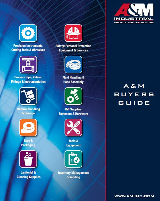 A&M Industrial Announces New Buyer's Guide
