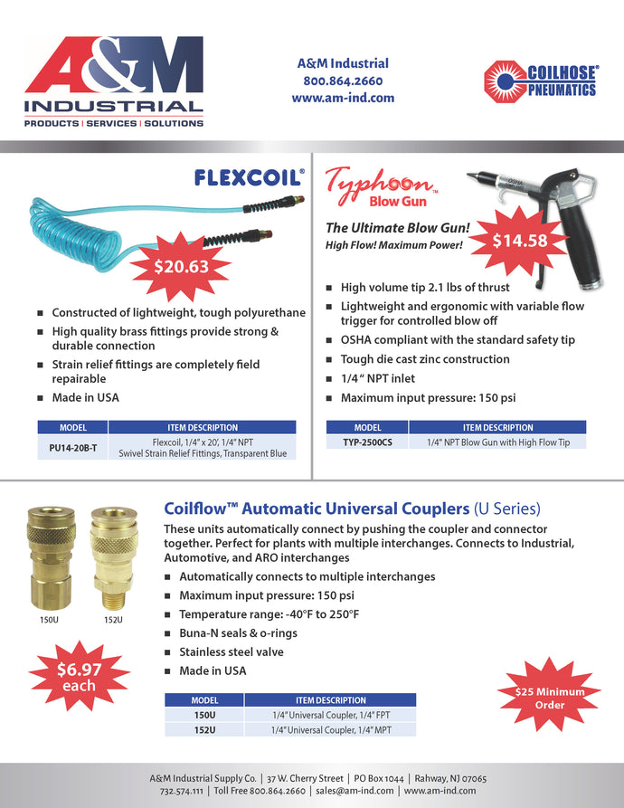 Coilhouse Pneumatics Promotions