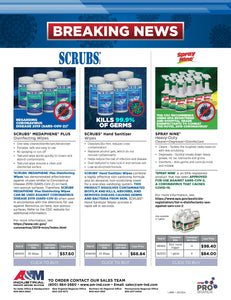 Virus Protection from Spray Nine & SCRUBS