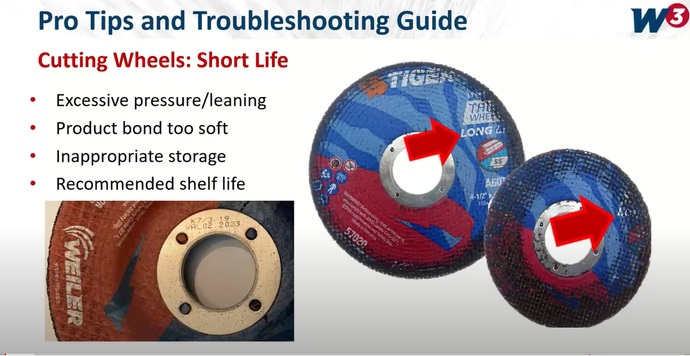 Troubleshooting Common Challenges with Cut Off Wheels, Grinding Wheels and Flap Discs