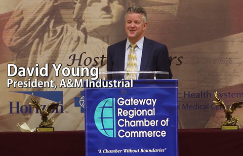 """A&M Honored with """"COVID Hero"""" Award from Gateway Chamber"""