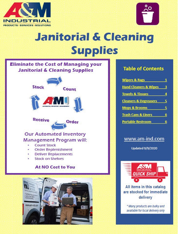 Janitorial & Cleaning Supplies Managed Inventory