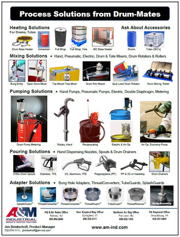 Drum Processing and Dispensing Solutions
